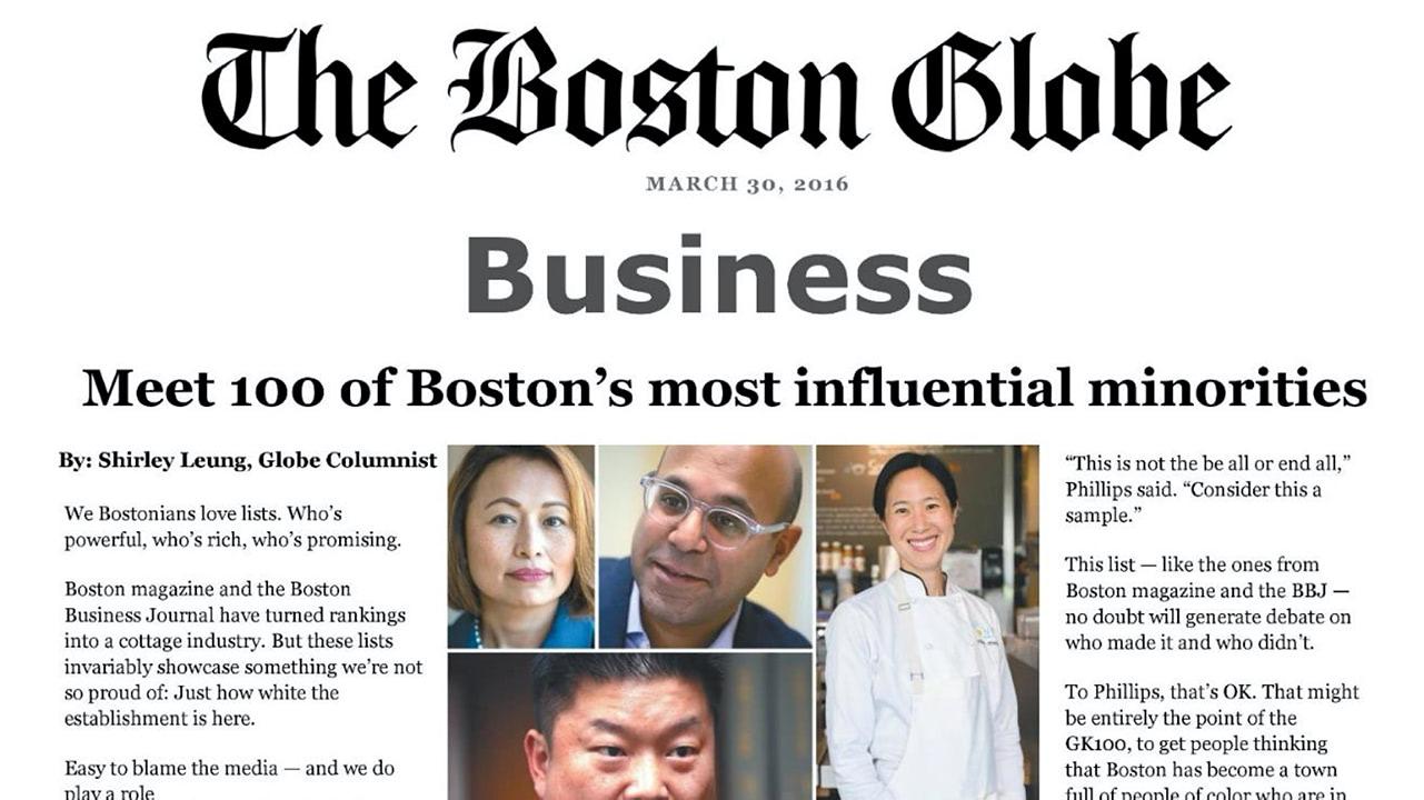 Meet 100 of Boston's Most Influential Minorities